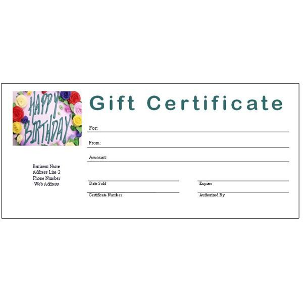 gift certificate template free fill-in Free Printable Gift - printable gift certificates free template
