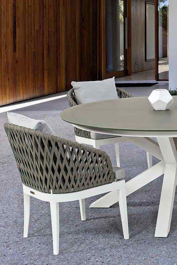 Bizzotto Pelican Sessel Stilvolle Designer Gartenstühle Und   Aluminium  Gartenmobel Kettal