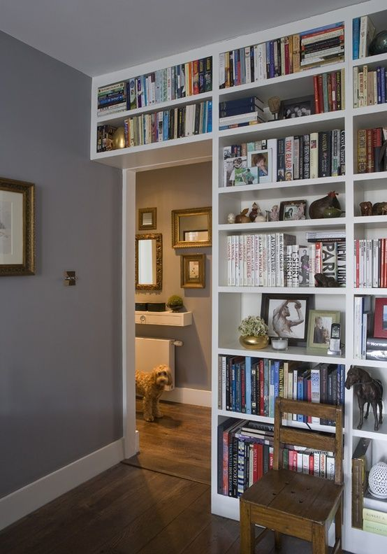 15 Small Home Libraries That Make a Big Impact Creativity, House - home library design