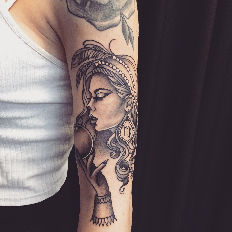 Tattoo virgo