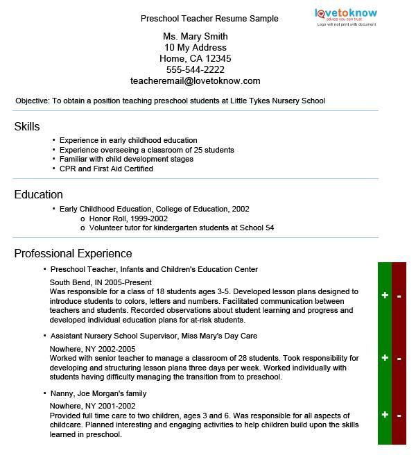 resume cover letters for preschool teachers Get the best job in teacher area use this teacher cover letter example and make the most current cover letter for you.