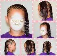 French Braids Hairstyles For Black Kids | www.pixshark.com ...