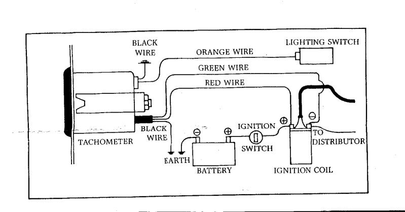 smiths tach wiring diagram