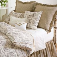 Farmhouse Toile Bedding by Taylor Linens Bedding ...