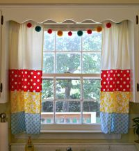 vintage kitchen curtains ideas | Cafe Curtains For Kitchen ...