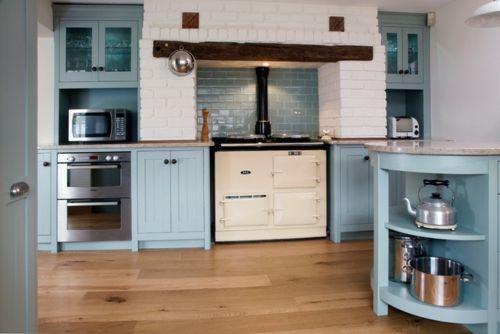 Еine traditionelle Küche modern gestalten - #Dekoration - moderne kuche gestalten
