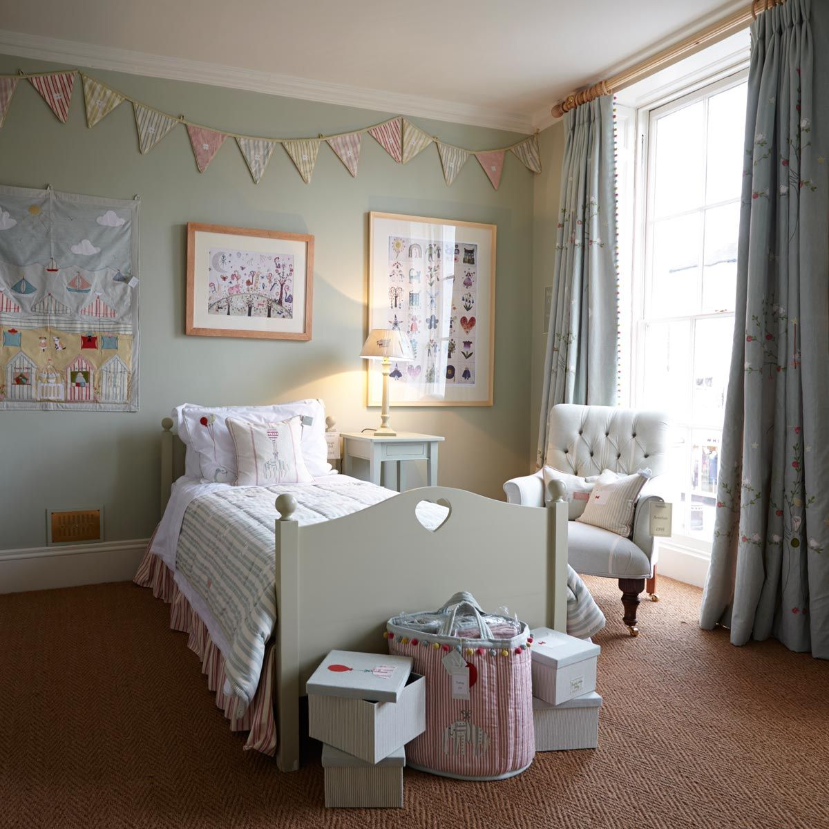 Ideas For Childrens Rooms Gorgeous French Grey And Soft Pastels Children 39s Room By