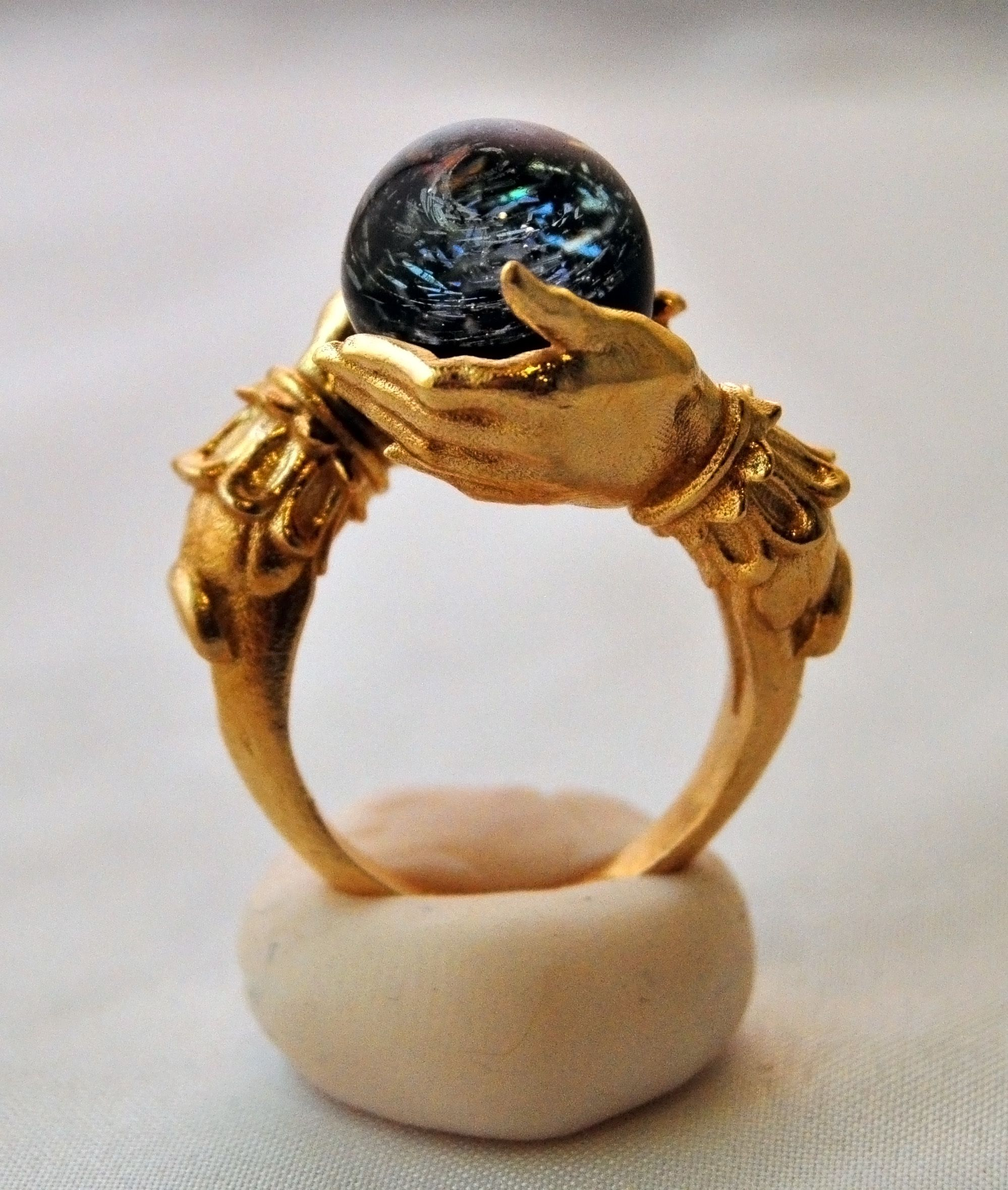 pagan wedding rings Jewelry Pagan Wicca Witch The Celestial Galaxy Oracle Ring in Brass Omnia