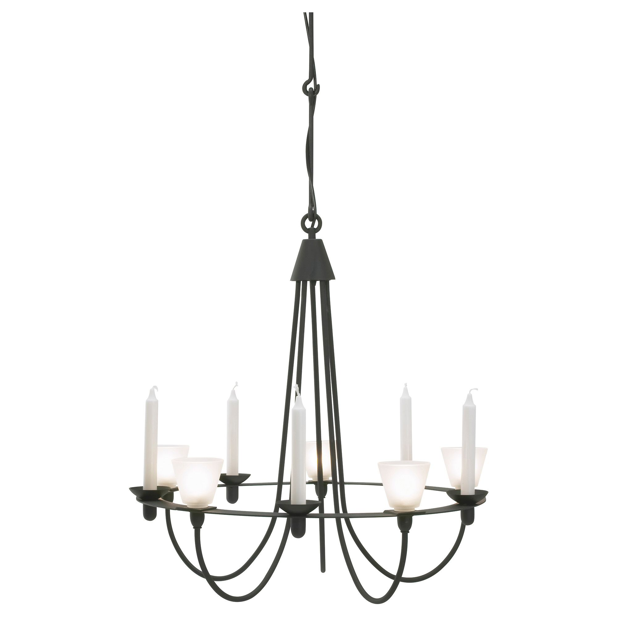 Ikea Chandelier Lerdal Chandelier - Ikea - Can Be Used With Both Electric