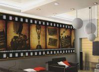 Home Theater Decor Film FILMSTRIP Wallpaper Wall Mural