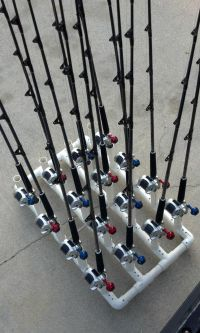 PVC fishing rod holder ideas... | Fish | Pinterest |  ...