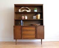 Mid Century Modern China Cabinet by Bassett | Dining hutch ...
