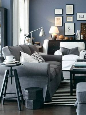 69 Fabulous Gray Living Room Designs To Inspire You Living room - gray living room walls