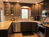 wood valance over kitchen sink - Google Search | Kitchen ...