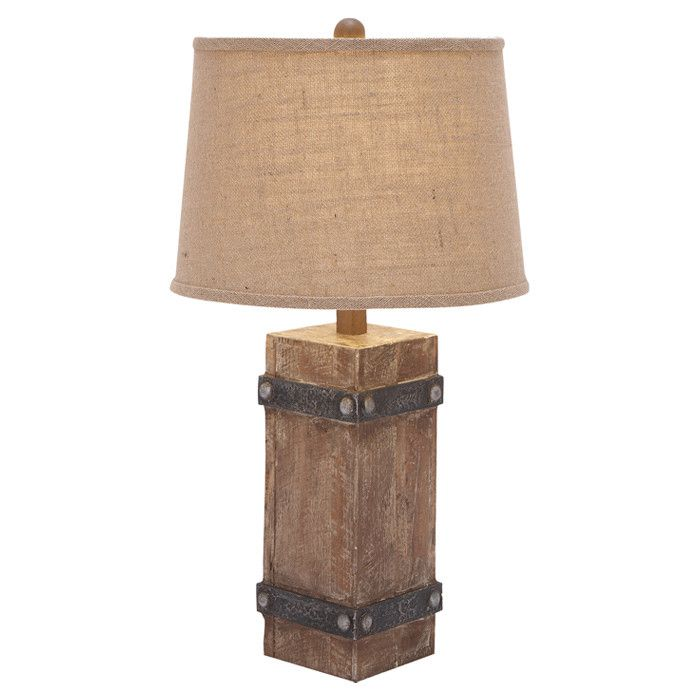 Rustic Table Lamps Rustic Wooden Table Lamp | Intriguing.interiors