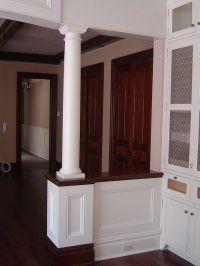 Half Wall Detail   Half walls, Entry ways and Columns