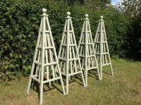 Wooden Obelisk & Painted Garden Obelisks Gallery   Garden ...