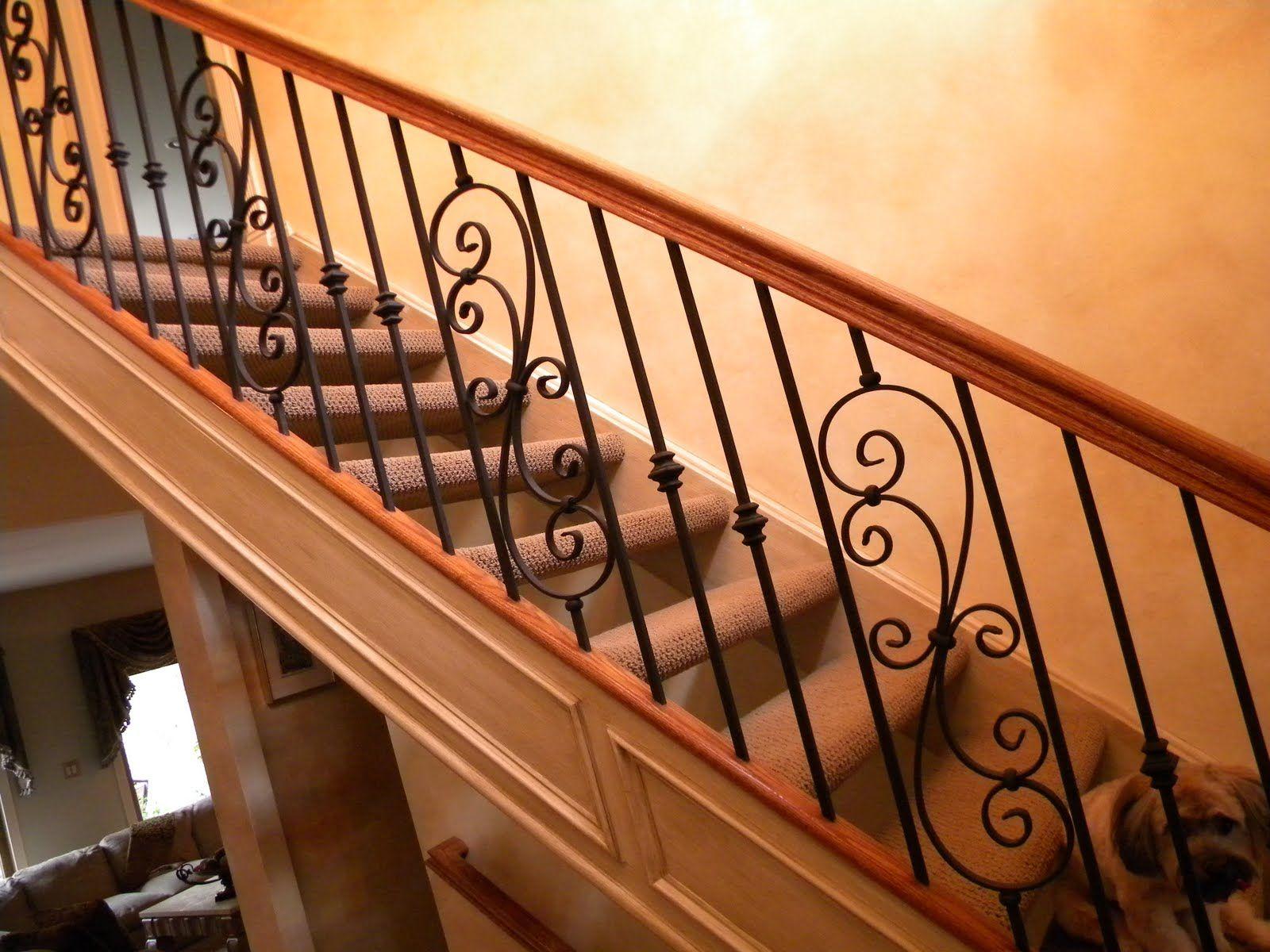 Wood Stair Railings Interior Finest Furniture Modern