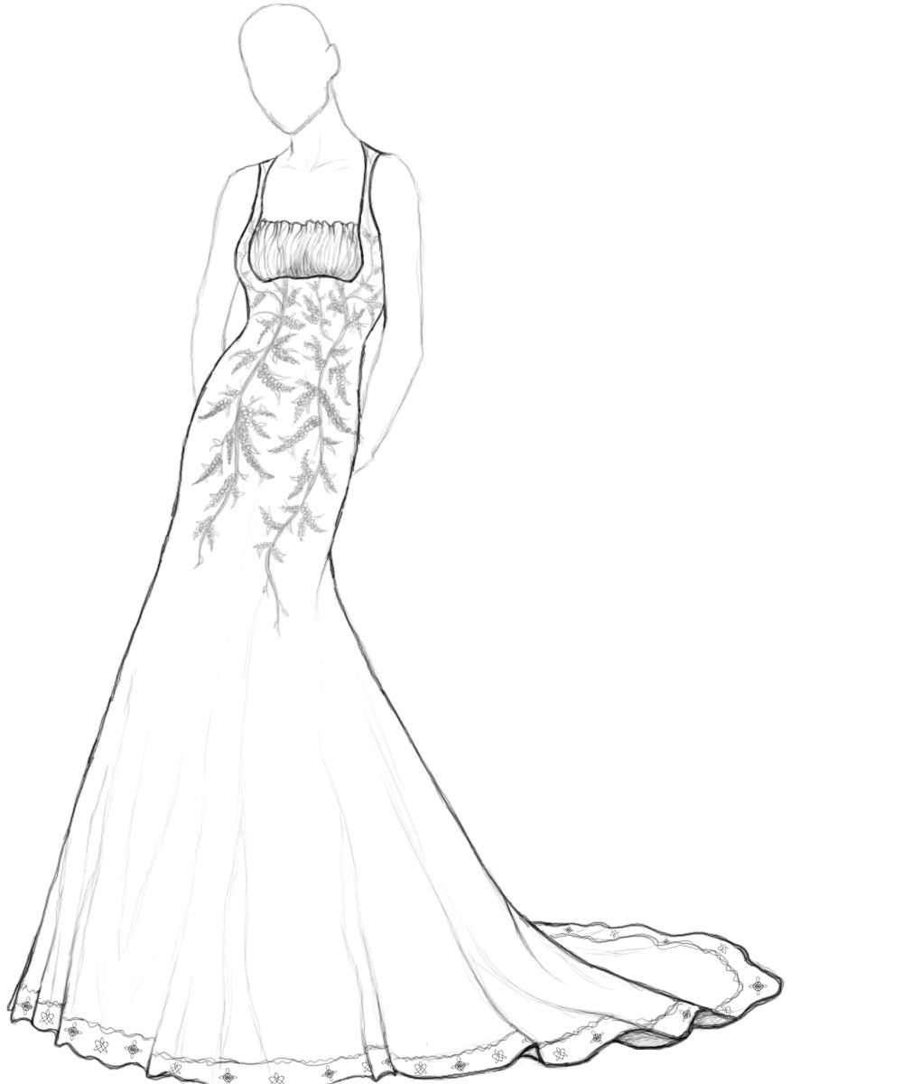coloring book pages for wedding