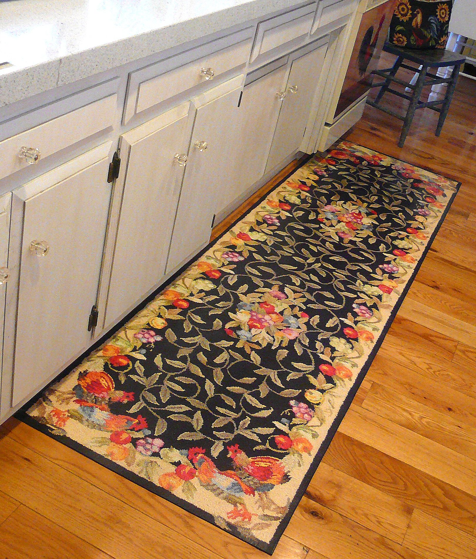 Custom made floor mats this is not a rug it s a painted floor mat