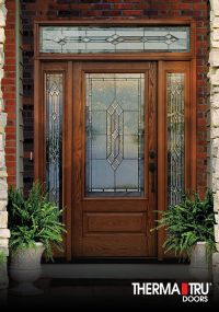 Therma-Tru Classic-Craft Oak Collection fiberglass door ...