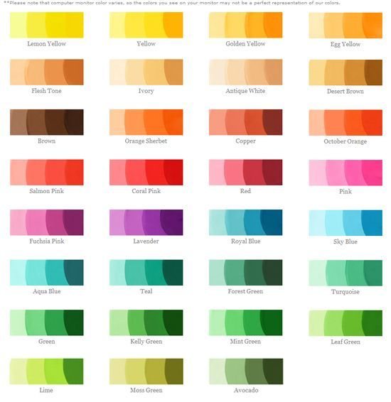 fondantcolors2 colours Pinterest Colourful hair, Color - food coloring chart