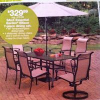 Nice patio furniture from Kmart! | Outdoor Living Ideas ...