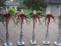 50 Cheap & Easy DIY Outdoor Christmas Decorations | Diy ...