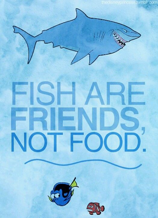 Dr Seuss Quote Iphone Wallpaper Fish Are Friends Not Food Wonderful Board Of Disney