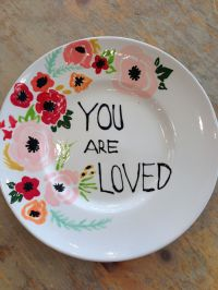 painted plate    Pinteres