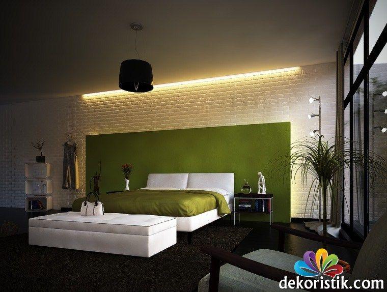 Grün,weiße,moderne,Schlafzimmer Ronny und Christinas - schlafzimmer ideen in grun