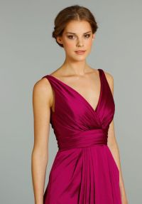 Magenta Dresses for My Bridesmaids.