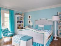Delightful Light Blue Teenage Girls Bedroom Design Ideas ...