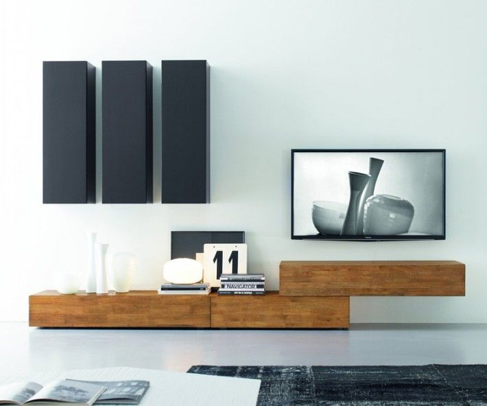 Wohnzimmerschrank Holz Modern Best 25+ Modern Tv Wall Units Ideas On Pinterest | Modern
