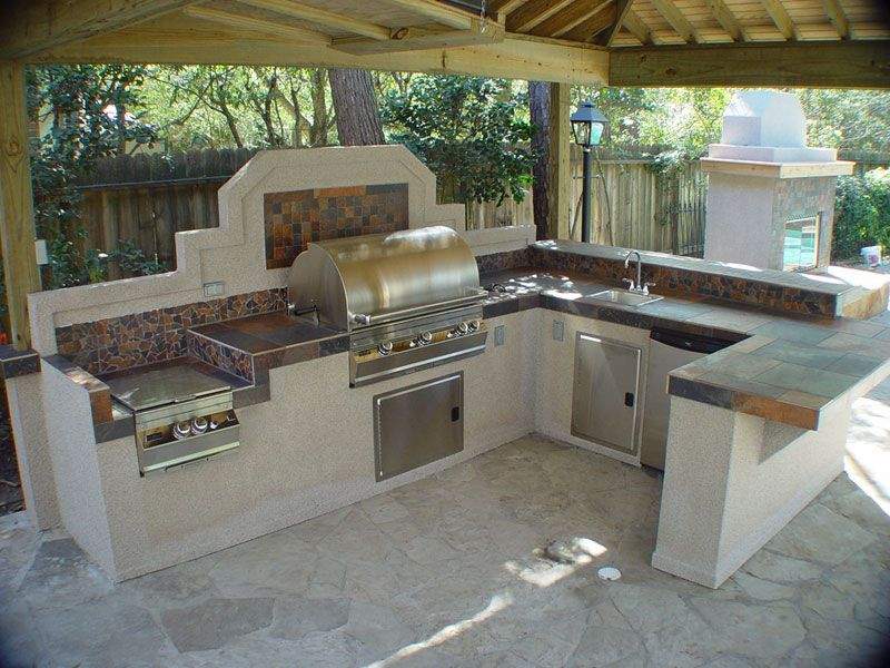 features-outdoor-kitchen-designsjpg Pool Pinterest Build - outside kitchen designs