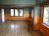 Knotty pine in a craftsman home? (floor, fireplace, color ...