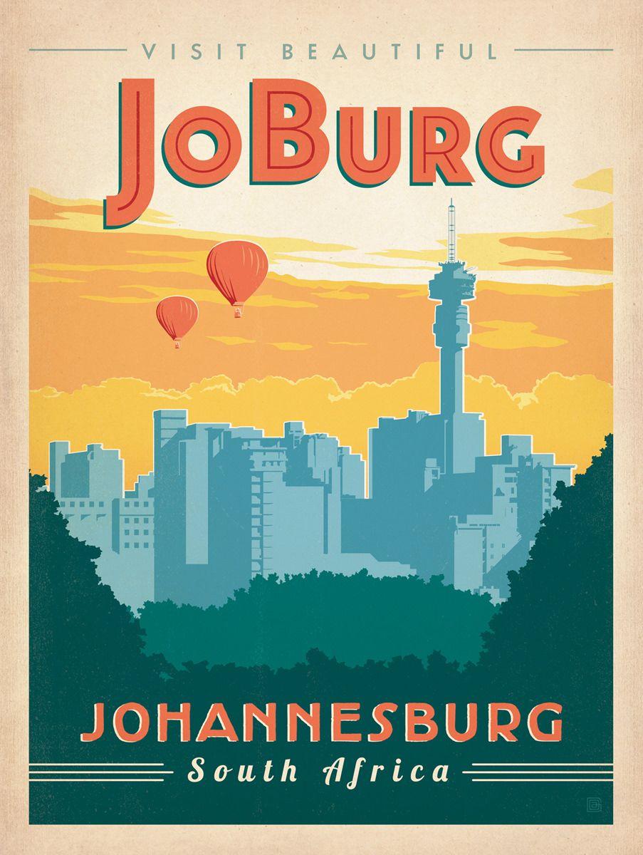 Poster johannesburg