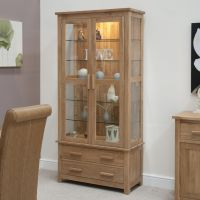 Laminated Wooden Display Cabinet Come With Clear Glass ...