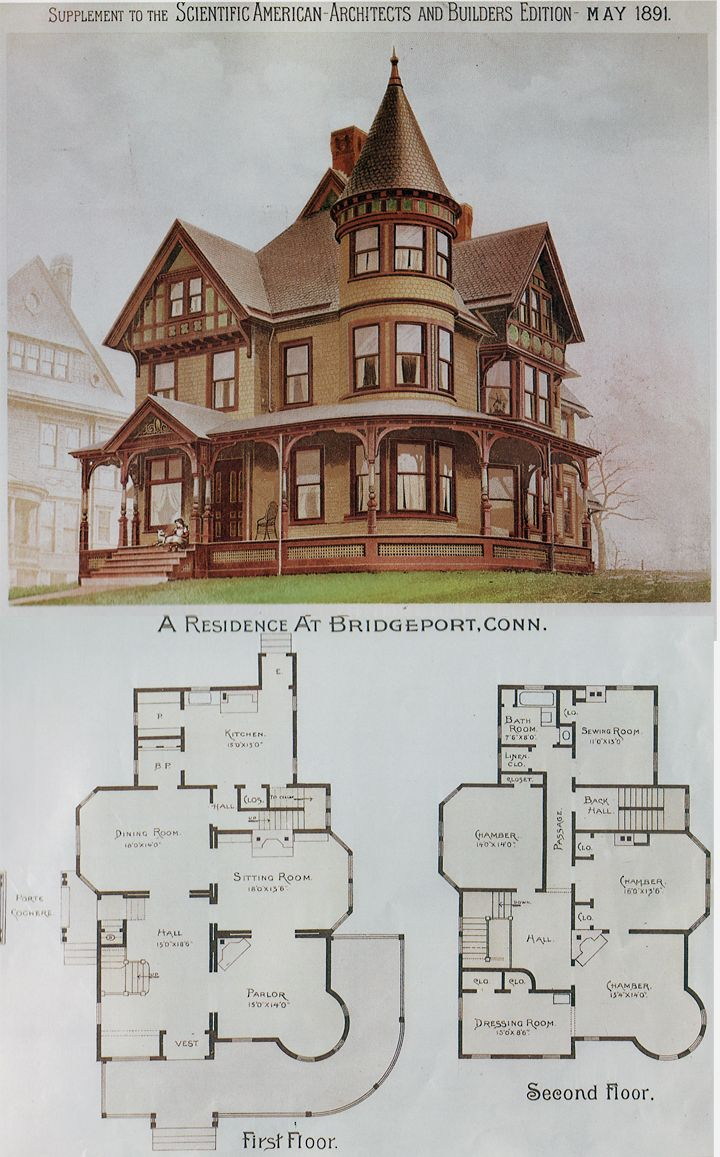 Pics for miniature house plans more victorian
