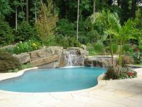 Backyard Swimming Pool Designs | Tropical backyard ...