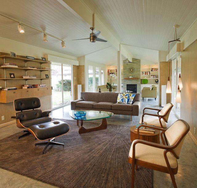 21 Beautiful Mid Century Modern Living Room Ideas Modern living - mid century modern living room