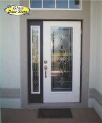 single side window front door