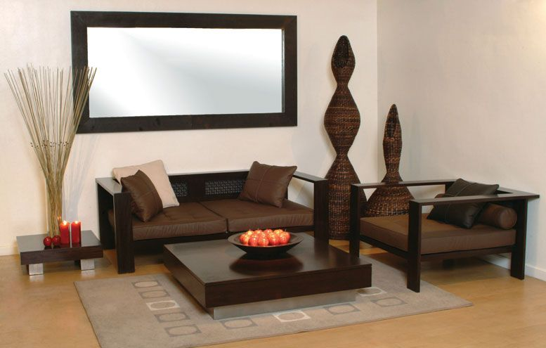 Modern Furniture with its Sophisticated Look Ethnic Living Room - wood living room furniture