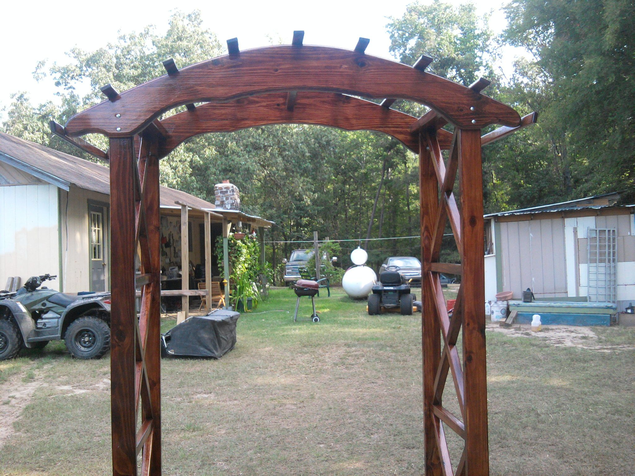 wedding arches wedding canopy wooden arches you can make for wedding Rustic X wedding arch