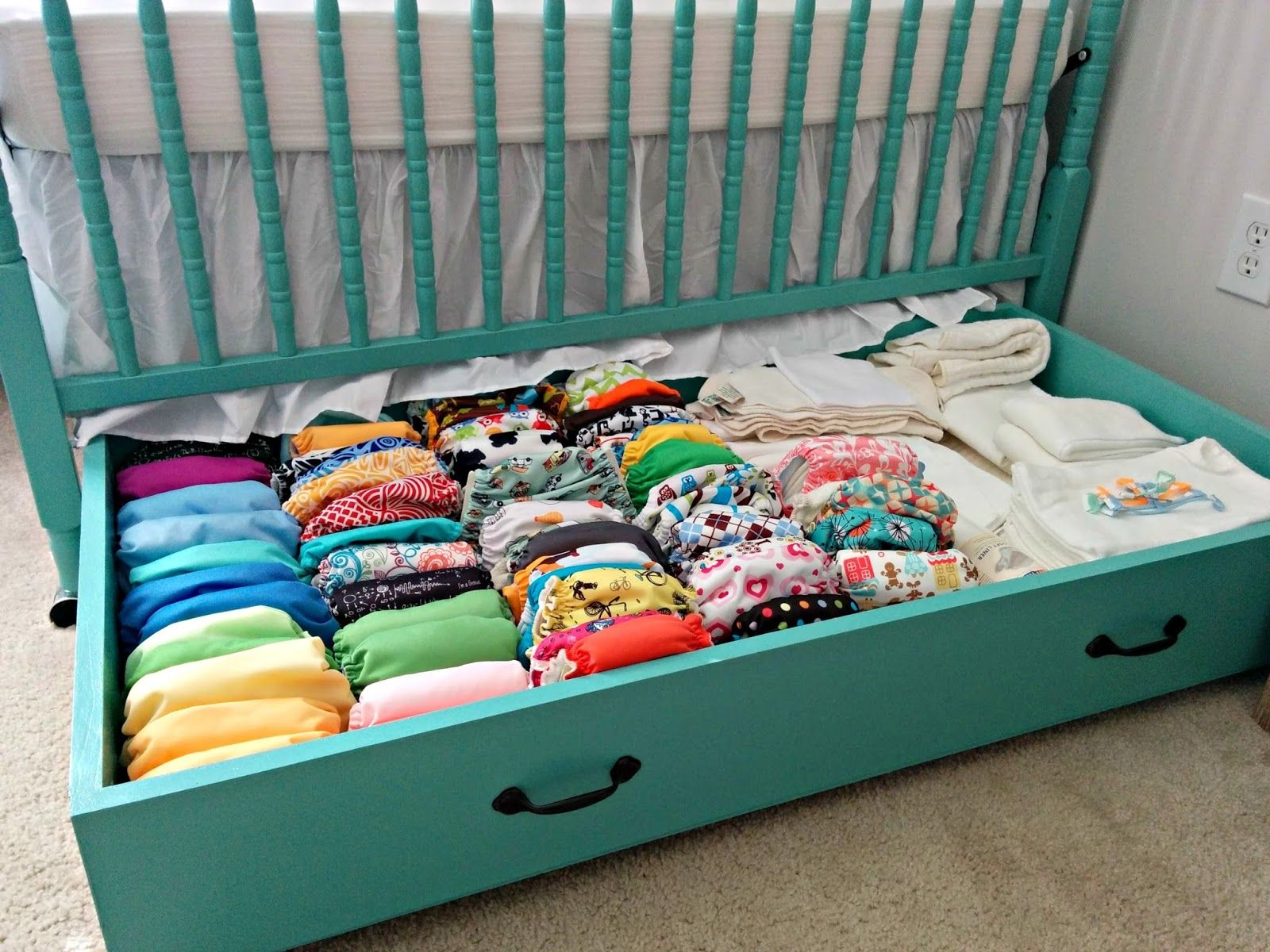 Solution Rangement Papier Cloth Diaper Revival Diy Crib Drawer Free Plans Cloth