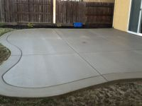 Exceptional Concrete Patio Finishes #1 Broom Finish ...