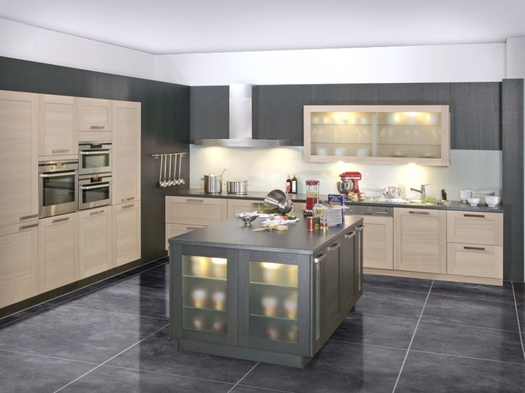 Cream Kitchen Design Cream And Grey Modern Kitchen Design My House Ideas