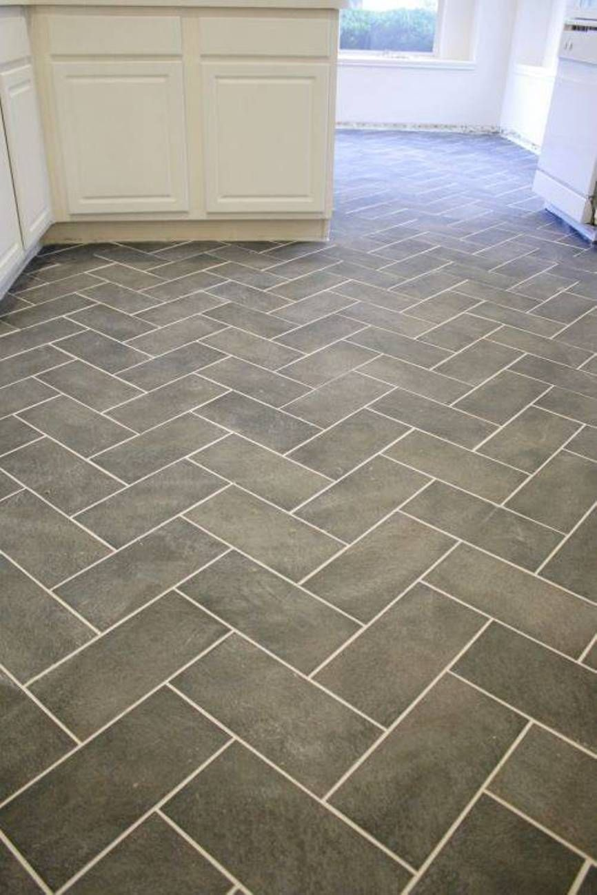 kitchen flooring types Model of Herringbone Tile Floor Separate Different Types of