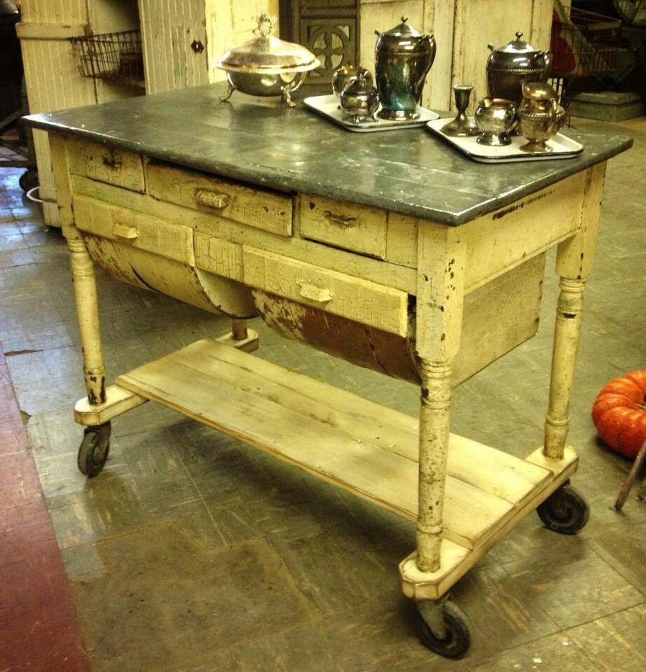 Kitchen Islands For Sale Ebay Zinc Top Possum Belly For An Island! | Furniture