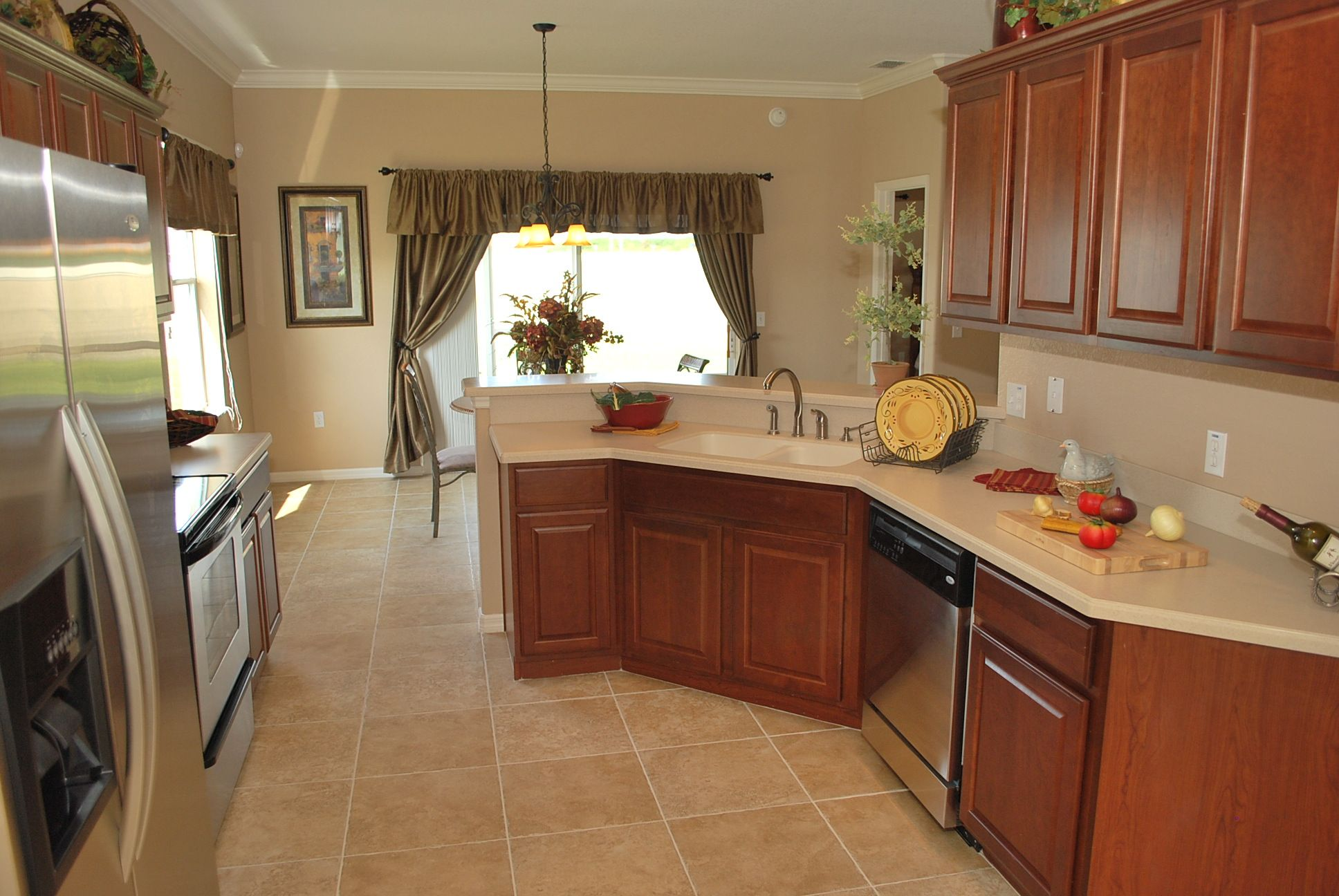 design your kitchen Wood cabinets Corian countertops stainless steel appliances and more Design your kitchen with